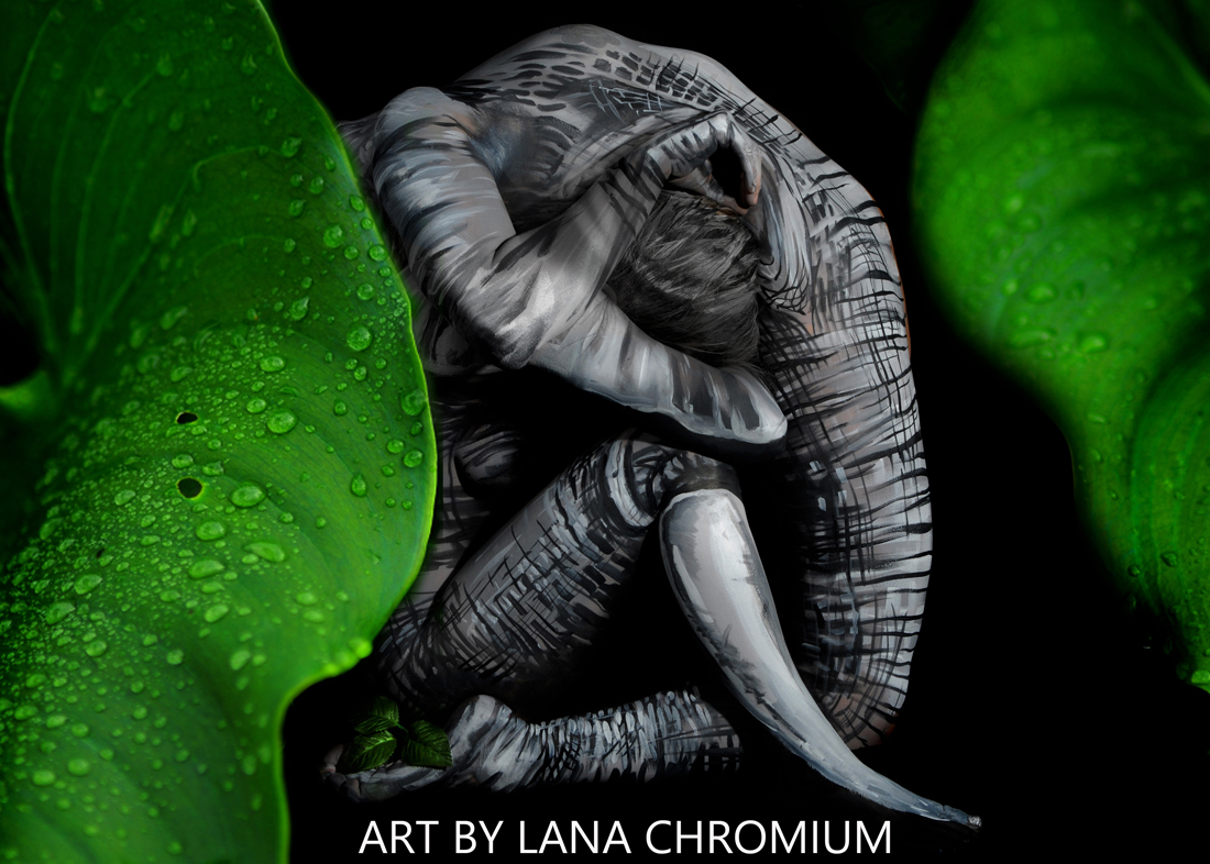Bodypainting and Fine Art by Lana Chromium