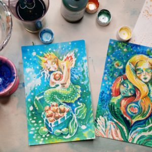 """Mermaids"" Series"