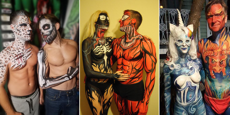 Fantasy Fest Bodyart Bodypainting And Fine Art By Lana Chromium