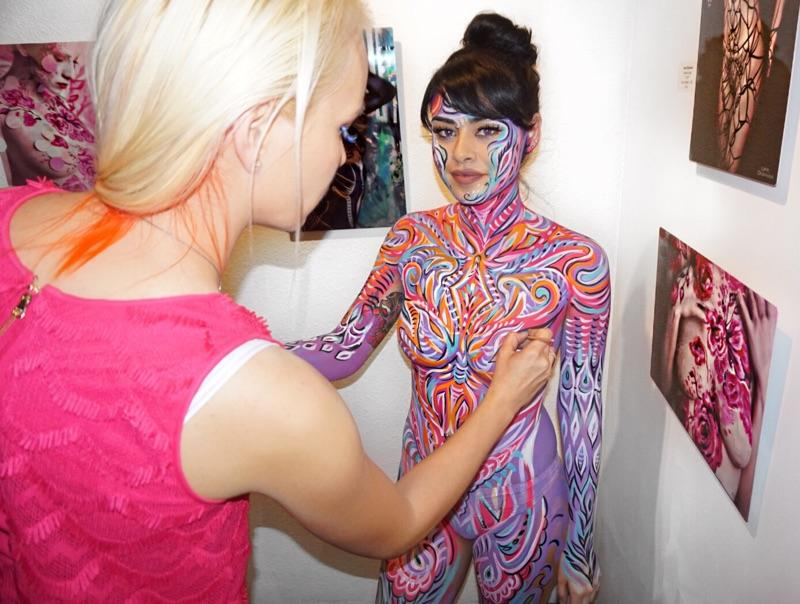 Bodyart For Events Bodypainting And Fine Art By Lana Chromium