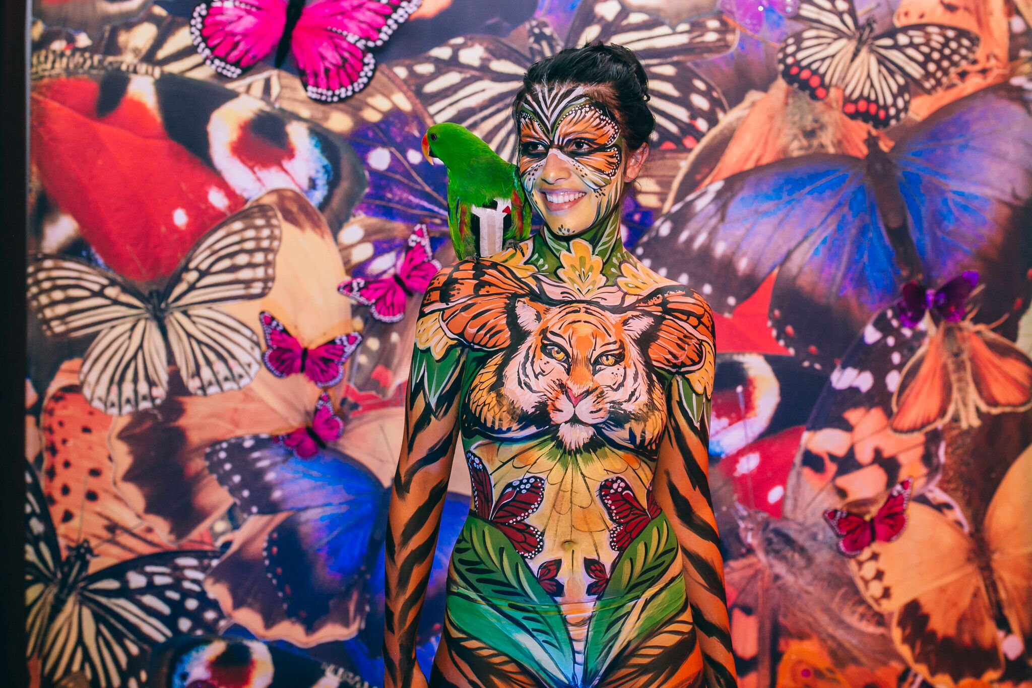 10 Event Entertainment Ideas With Bodyart Bodypainting And Fine Art By Lana Chromium