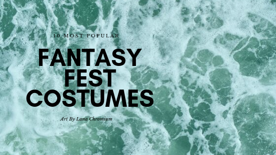 body painting cosrumes for Fantasy Fest in Key West - 10 best bodyart makeup looks from 2018