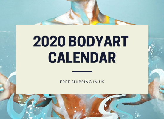 A high quality 2020 calendar. A calendar containing images selected from the previous years of Lana Chromium bodypainting.  A large calendar featuring 12 months of Lana's images.  Printed on high-quality glossy paper. Full monthly calendar on each page.  🔥 Limited Stock Quantity.  * Sale price $29.00 is valid until December 15th, 2019.  SHIPPING:  🎁 Free shipping 2020 Bodyart Calendar in US. International Shipping calculated at check-out. 🐕 At the same time, 10% of all profits will be donated to San Diego local animal rescue.