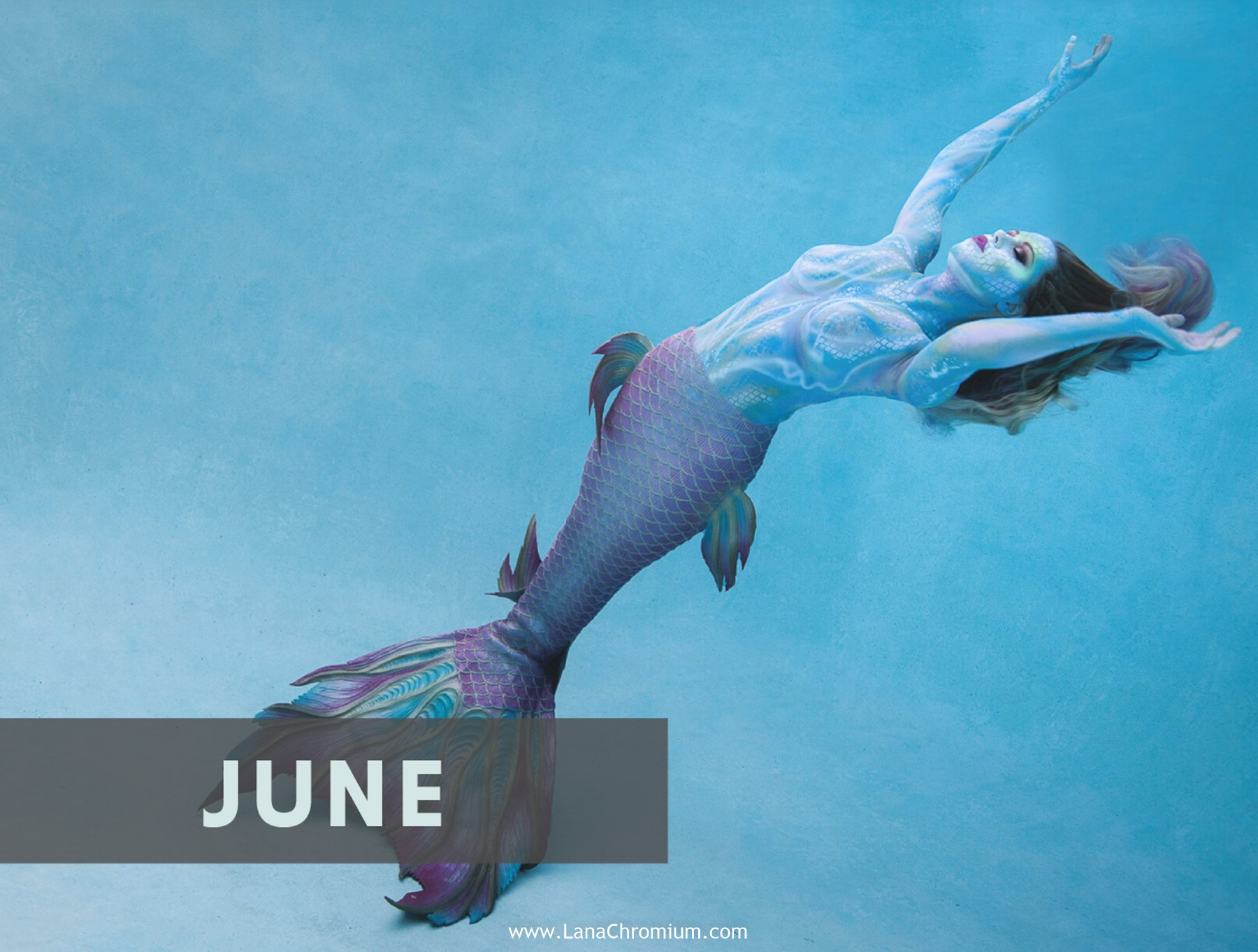2020 Bodyart Calendar Bodypainting And Fine Art By Lana Chromium