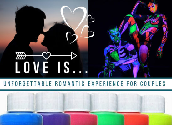 🎨 ❤ Valentine's Bodypainting Class ☆ UV bodyart for couples 🎈Location : San Diego CA 🎈Date: Feb 14th 2020 🔖Sign up here: https://www.eventbrite.com/e/valentine-day-class-for-couple… 🎨✌😊