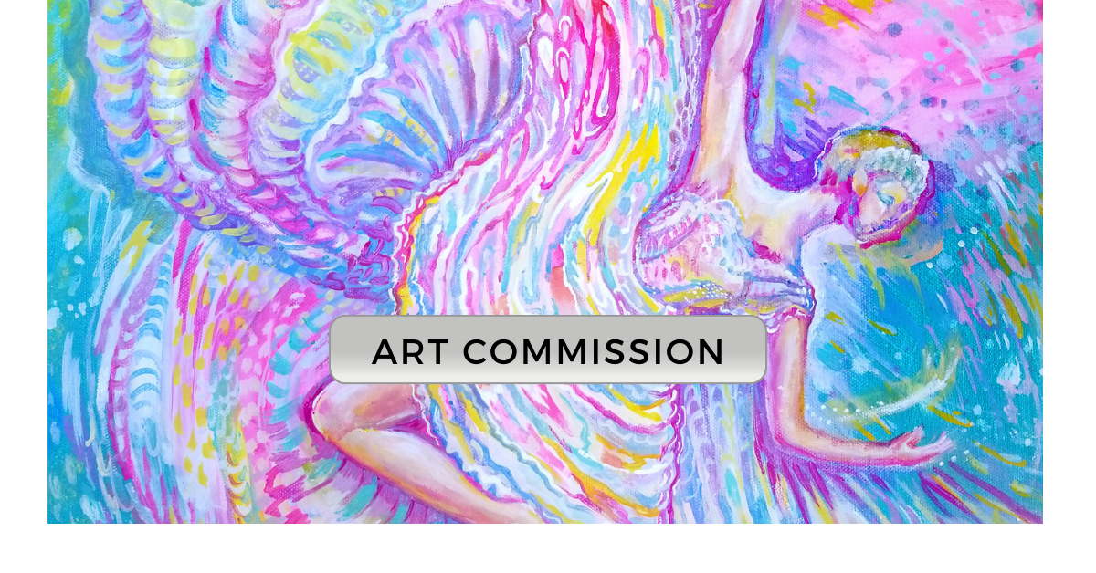 A successful commission is a collaboration between the Artist and the Collector. The success of the project hinges on the success of working relationship with each other. STEP #1: Discuss the subject matter, color and design before beginning the painting process. Details such as color of the room the comissioned piece will hang are discussed.   During the meetings or communications, I will show the Collector a selection of my art portfolio matching their idea, this will help me see their likes and dislikes about color and design.    Collectors will be asked these questions:  What is your vision? What is your initial perception of the project? What colors do you like to live with? What symbols, character you enjoy the most?   DEPOSIT: A 50% deposit is required and are non-refundable. The deposit pays for the artist's invested time, labor, and art materials.   SHIPPING:  Collector pays for shipping costs. I will be shipping your commission from San Diego, California USA  Approximate estimate for shipping will be provided based on your address and choice of carrier.
