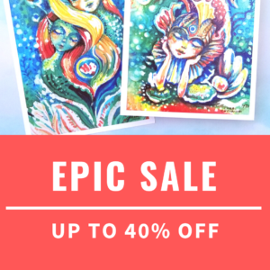 EPIC SALE - UP TO 40% OFF