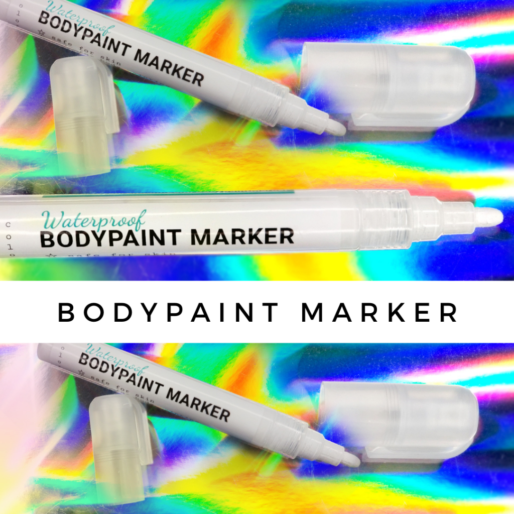 paint for skin use, paint for skin baby, airbrush paint for skin, safe paint for skin, paint skin airbrush, paint anime skin, paint and skin tone, safe paint for kids, Lana Chromium, Lana Chromium studio, San Diego makeup artist, San Diego art supplies, bodyart supplies, bodyart tools, makeup marker, bodypainting art supplies, bodypainting tools, bodypainting marker, waterproof bodypaint marker,