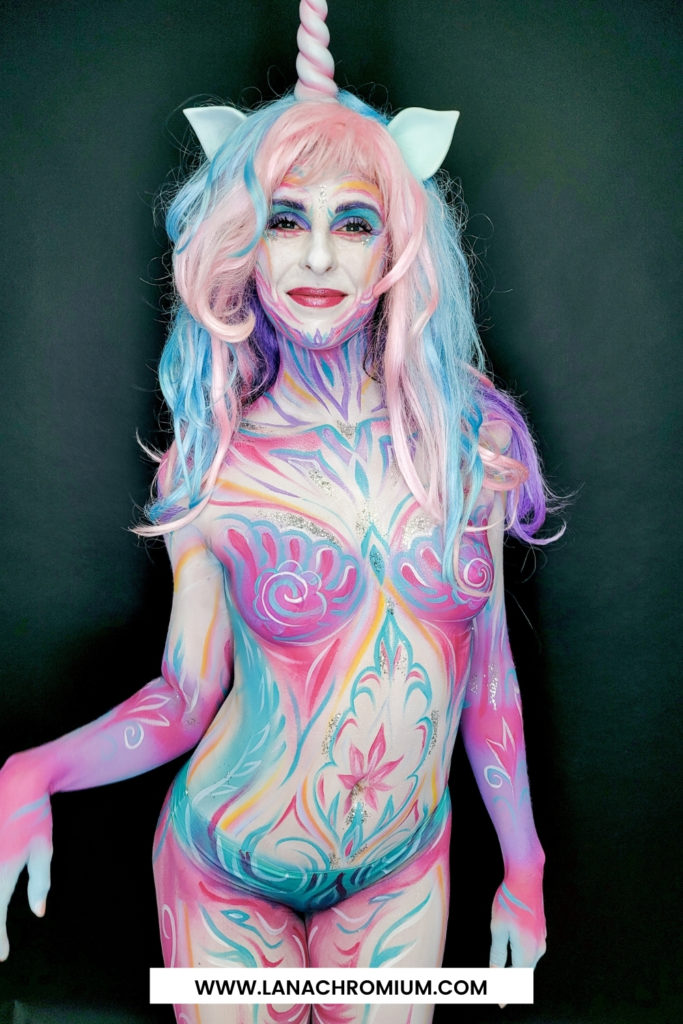 Lana Chromium, Lana Chromium Studio, www.LanaChromium.com, lana chromium skin wars, lana chromium, body painting art youtube, body painting art images, unicorn body painting, unicorn body art, zombie unicorn body paint pics, zombie unicorn body paint stream, zombie unicorn body paint twitch, zombie unicorn body paint youtube,    unicorn makeup ideas for halloween, unicorn face makeup ideas, easy unicorn makeup ideas, simple unicorn makeup ideas, unicorn glitter makeup ideas, cute unicorn makeup ideas, unicorn hair and makeup ideas, 8 diy amazing unicorn makeup ideas, unicorn costume makeup ideas, unicorn makeup ideas easy,   unicorn makeup looks, unicorn makeup set, unicorn makeup palette, unicorn makeup ideas, unicorn makeup amazon,   unicorn face paint easy step by step, butterfly face paint, unicorn face makeup, face painting for beginners step by step, rainbow face paint,    Images for unicorn makeup for festival  EASY Music Festival Makeup Tutorial | Unicorn Makeup Look       dressing as a unicorn for a Halloween party, totally be using this video to help with my make up  Unicorn Makeup Ideas Perfect for Halloween  The unicorn craze has reached a glitter-bombed point of no return—and not just for unicorn makeup.            Unicorn makeup is one of the most popular ideas for festive looks amongst girls. That's why we couldn't pass by with that knowledge.   Why are people so obsessed with unicorns, you ask? Well, they're precious, rare, mythical creatures with a luscious white mane and an unbelievable horn in the middle of their mug. Simply put, unicorns are stunning. And in a world where social media conspires to make us all look the same, every iteration of a unicorn costume can be brilliantly different, and none of them are wrong. That's because no one has actually ever seen a unicorn. So if you welcome this prime opportunity to shine, know that you can tweak the tips below to suit your prerogative.  For super festie unicorn lips, add a swipe of pearlescent bl